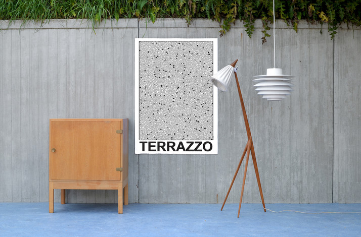 terrazzo poster