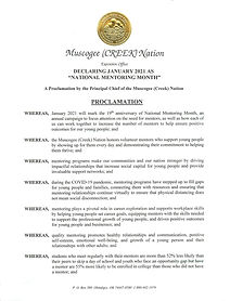 Proclamation National Mentoring Month Ja