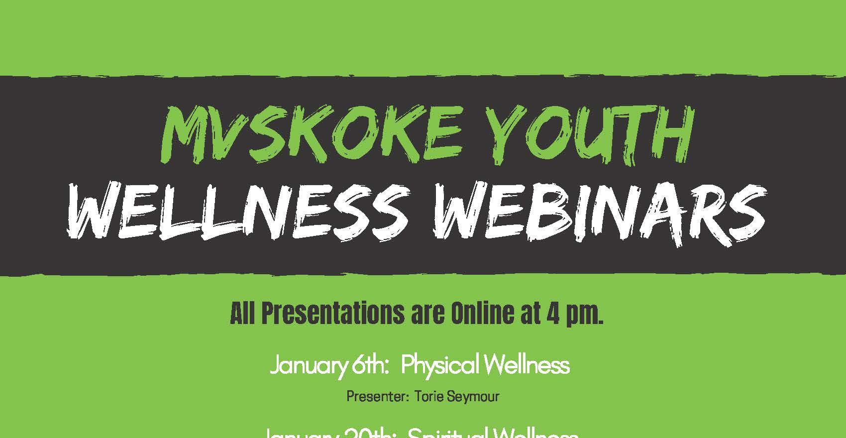 MY Wellness Webinars