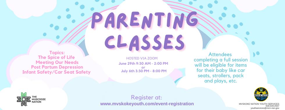 Parenting Classes 2021