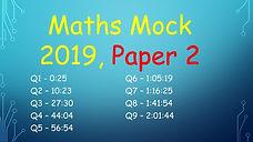 deb maths mock leaving cert higher level maths 2019 paper 2