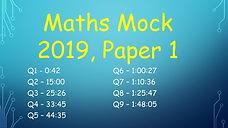 deb maths mock leaving cert higher level maths 2019 paper 1