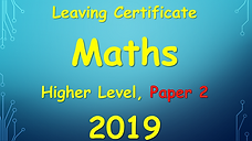 leaving cert higher level maths 2019 paper 2 solutions
