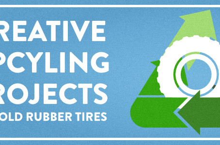Creative Upcyling Projects for Old Rubber Tires