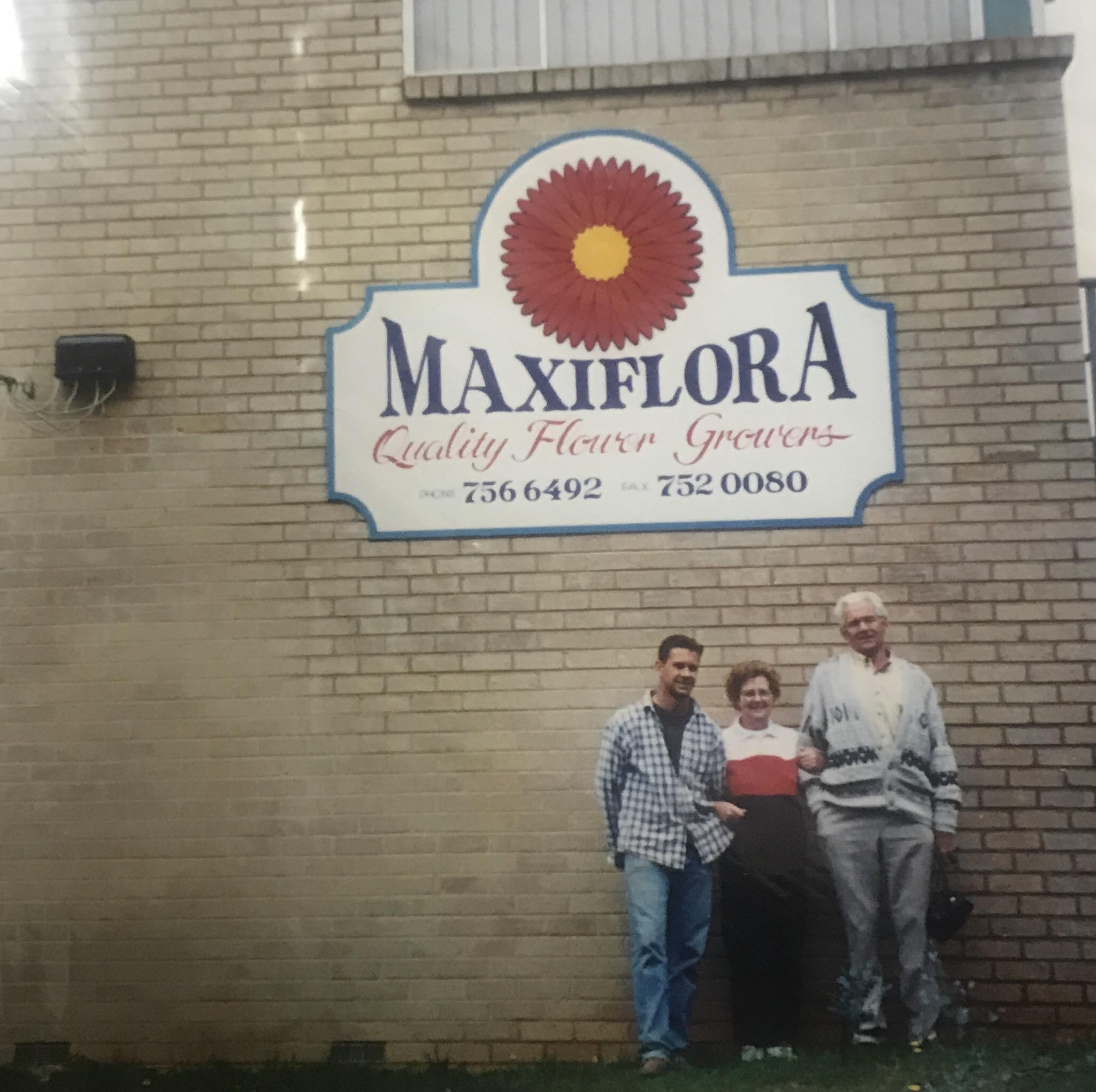 Michael, Ina and John-1992