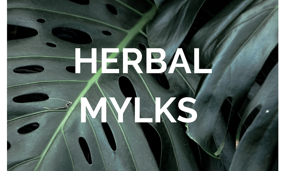 HERBAL MYLKS (PACK OF 3)