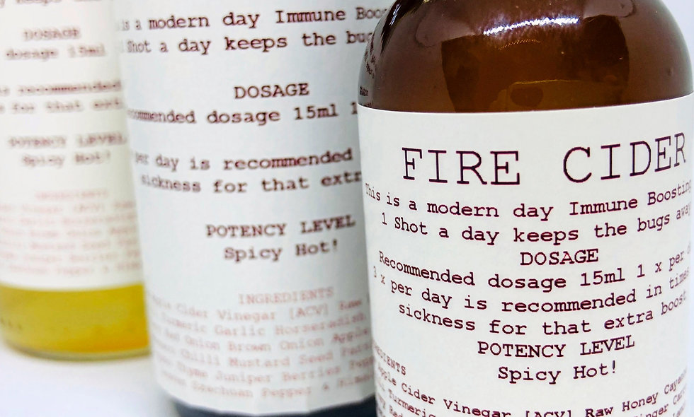 IMMUNE BOOSTING TONIC - FIRE CIDER