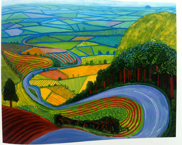 hockney landscape