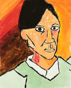 Picasso self-portrait by Eloise