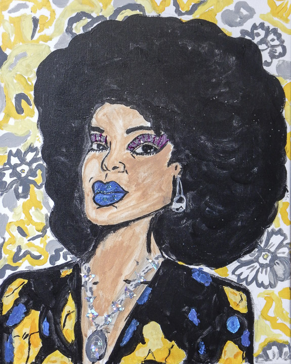 In the style Mickalene Thomas