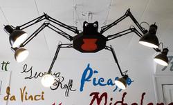 our studio SPIDER!