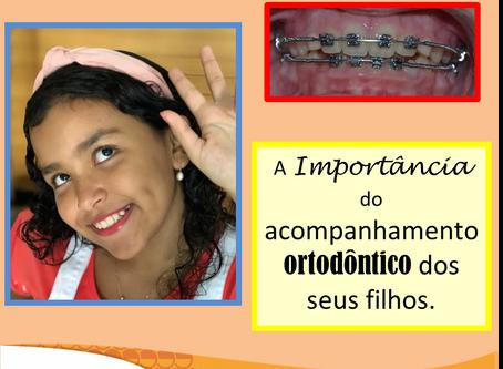 Julho Laranja! Ortodontia Infantil!