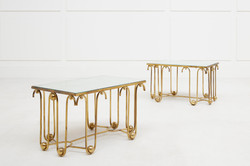 ROYERE-Paire-tables_Galerie Chastel Marechal