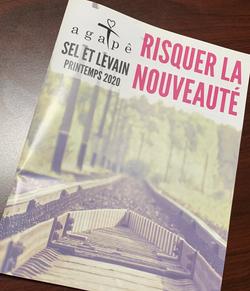 Interview dans La revue Sel et levain