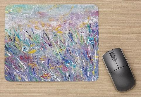 Tapis de souris : Tes couleurs azurées
