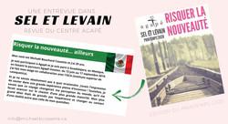 Sel et Levain