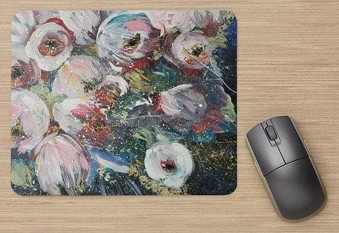 Tapis de souris : Tu fleuris ma vie