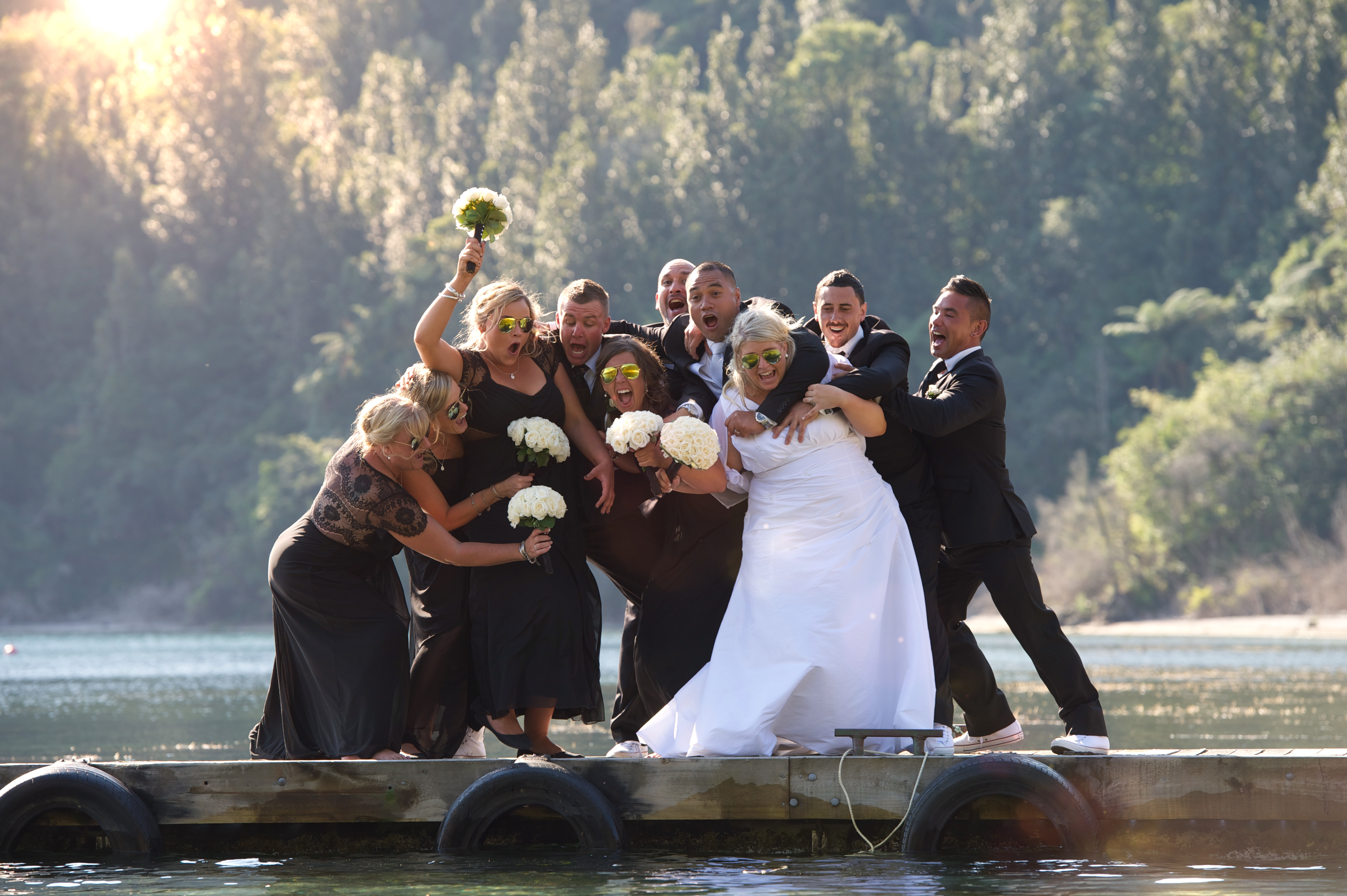 Lake Okataina Wedding