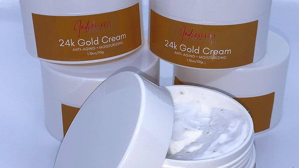 24k Gold Cream