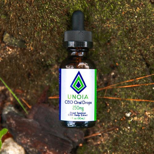 250mg CBD Oil Drops | GA Peach Flavor