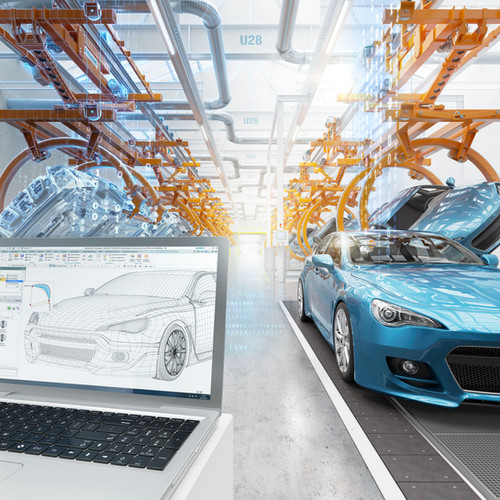 Siemens PLM Digital Layered Image-Automo
