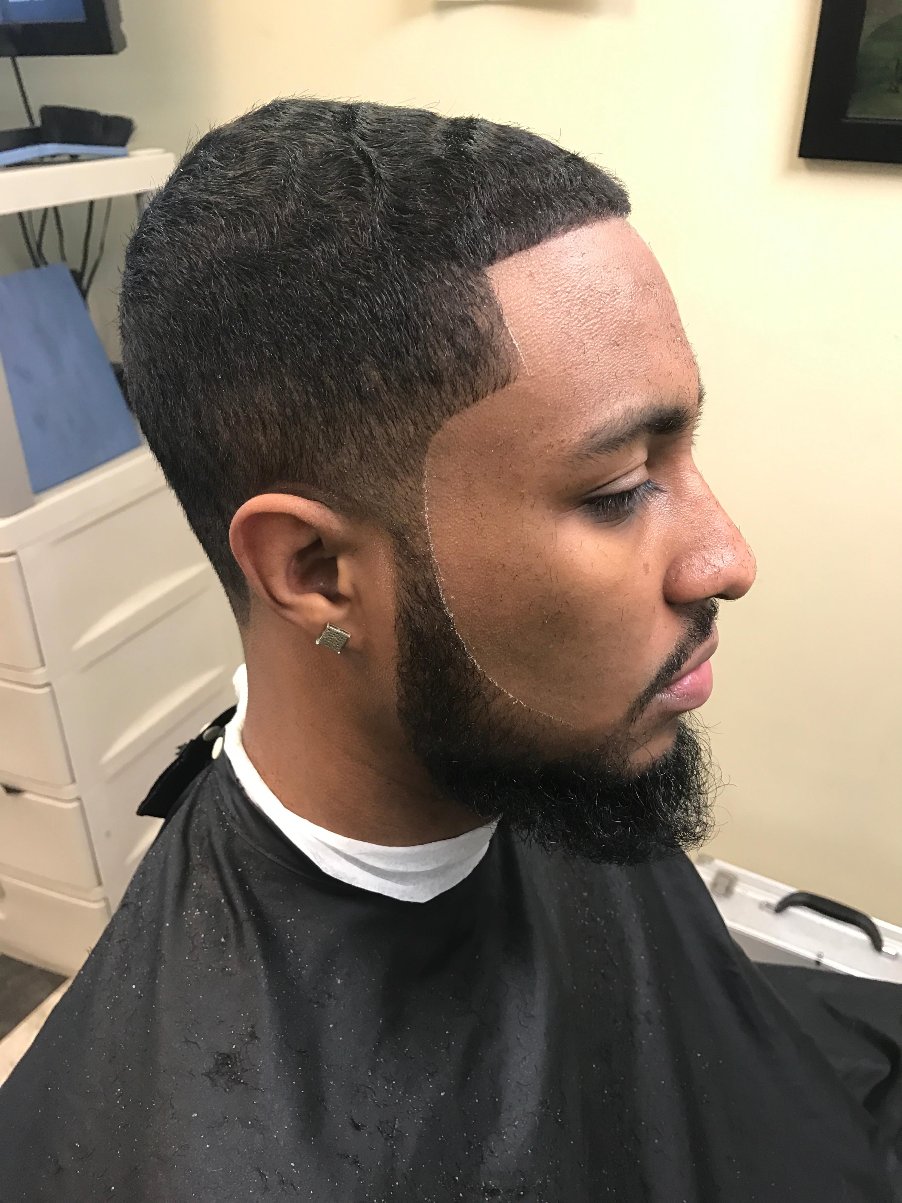Classic Haircut with beard trim