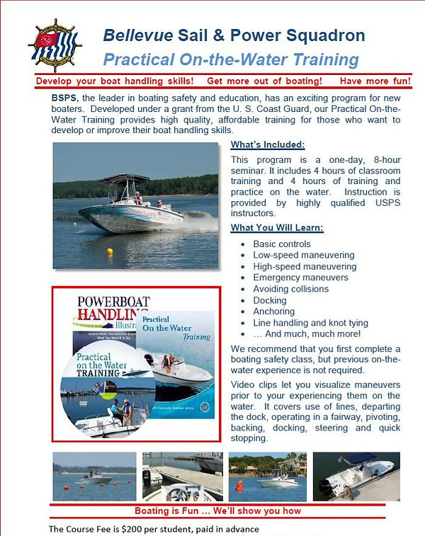 Practical-On-The-Water-Training