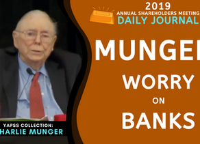 Collection: Charlie Munger - #63 'Worry on Banks'