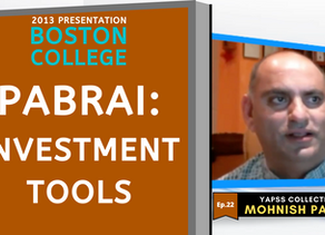 Collection: Mohnish Pabrai - #22 'Investment Tools'