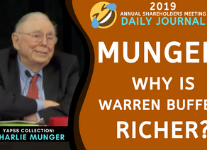 Collection: Charlie Munger - #69 'Why is Warren Buffett Richer?'