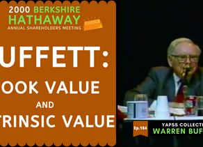 Collection: Warren Buffett - #184 'Book Value and Intrinsic Value'