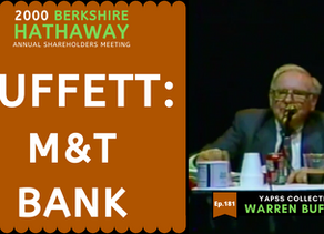 Collection: Warren Buffett - #181 'M&T Banks'