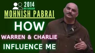 Collection: Mohnish Pabrai - #65 'How Warren & Charlie Influence Me'