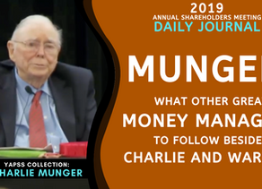 Collection: Charlie Munger - #41 'What Other Great Investors to Follow Besides Charlie and Warren?'