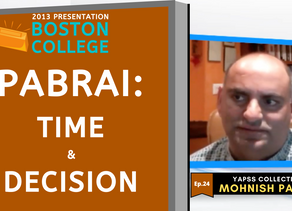 Collection: Mohnish Pabrai - #24 'Time & Decision'