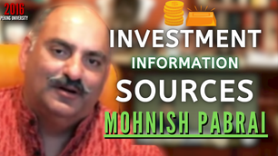 Collection: Mohnish Pabrai - #98 'Investment Information Sources'