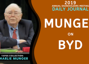 Collection: Charlie Munger - #51 'BYD'