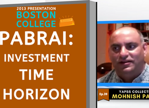 Collection: Mohnish Pabrai - #39 'Investment Time Horizon'