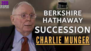 Collection: Charlie Munger - #122 'Berkshire Hathaway Succession'