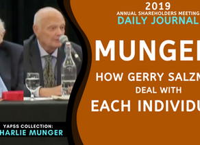 Collection: Charlie Munger - #59 'How Gerry Salzman Deal With Each Individual'