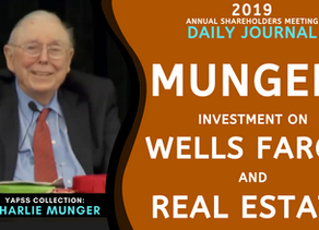 Collection: Charlie Munger - #60 'Investment on Wells Fargo and Real Estate'