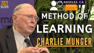Collection: Charlie Munger - #149 'Method of Learning'