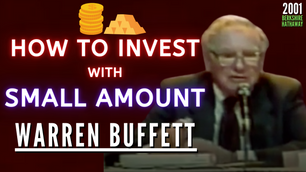 Collection: Warren Buffett - #224 'How To Invest With Small Amount'
