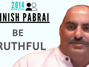 Collection: Mohnish Pabrai - #47 'Be Truthful'
