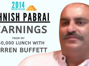 Collection: Mohnish Pabrai - #46 'Learnings From My $650,000 Lunch with Warren Buffett'
