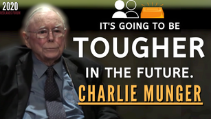 Collection: Charlie Munger - #180 'It's Going To Be Tougher In The Future'