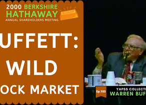Collection: Warren Buffett - #185 'Wild Stock Market'