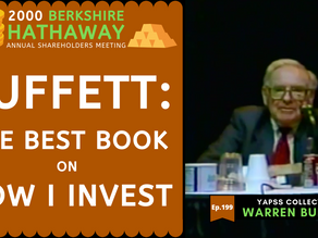 Collection: Warren Buffett - #199 'The Best Book on How I Invest'
