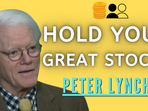 Collection: Peter Lynch - #3 'Hold Your Great Stocks'