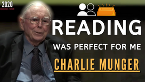 Collection: Charlie Munger - #177 'Reading Was Perfect For Me'